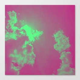 Radiant Clouds Canvas Print
