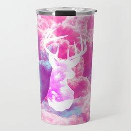 Deer In The Clouds Travel Mug