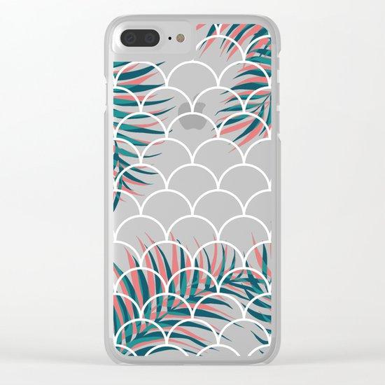 Tropical Window #society6 #decor #buyart Clear iPhone Case