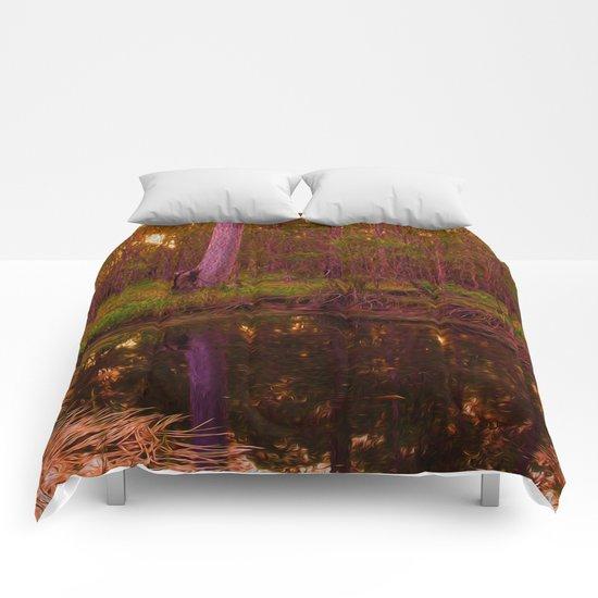 Bush Billabong Comforters