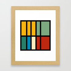 Abstract composition 23 Framed Art Print