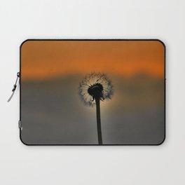 Dandelion Sunset landscape v3 Laptop Sleeve