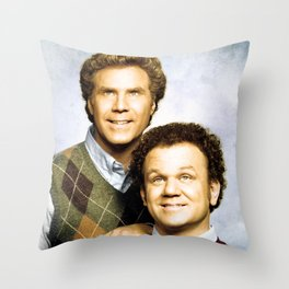 Step Brothers Movie Poster - Brennan and Dale Portrait Throw Pillow