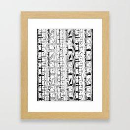 Tree Motif Framed Art Print