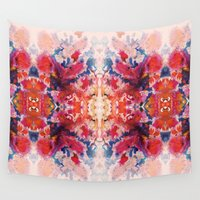 kaleidoscope Wall Tapestries featuring KALEIDOSCOPE by Zahra Sarfraz
