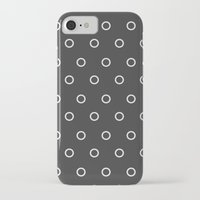 circles iPhone & iPod Cases featuring Circles by Nobu Design