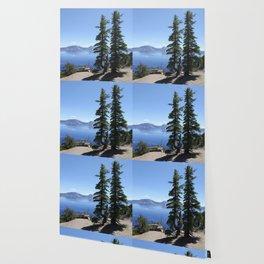 Scenic Crater Lake Wallpaper