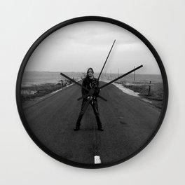 Fenriz Holy Island 1 Wall Clock
