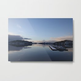 Norwegian Nature -Water I Metal Print