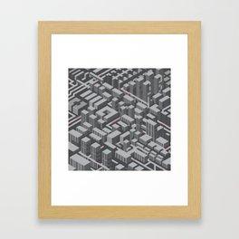 Brutalist Utopia Framed Art Print