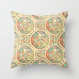 Complex geometric pattern Throw Pillow