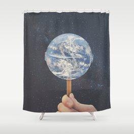 Lollipop Globe Shower Curtain