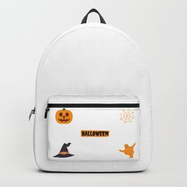 Halloween Stickers Pack Backpack
