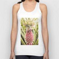 aloha Tank Tops featuring Aloha! by Megan Matsuoka