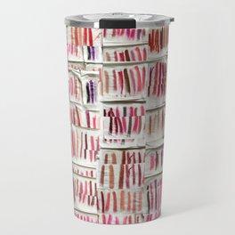 Lipstick Swatches Travel Mug