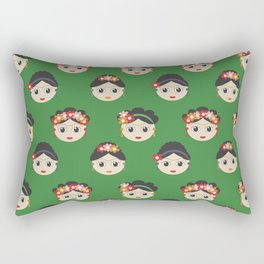 Fridas Rectangular Pillow
