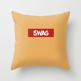 SWAG | Digital Art Throw Pillow