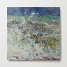 """Auguste Renoir """"The Wave"""" Metal Print"""