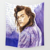 "lyrics Wall Tapestries featuring Harry Styles and ""Perfect"" lyrics by WaterLyrics"