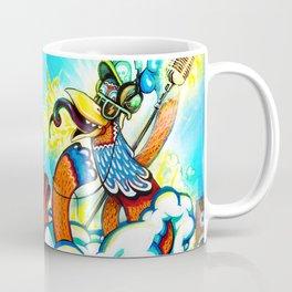 the Great DJ in the sky Coffee Mug