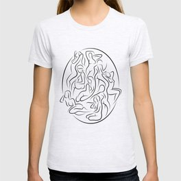 Ladies in Lines 2 T-shirt
