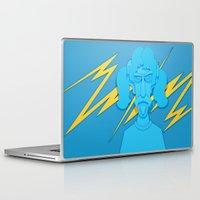 zappa Laptop & iPad Skins featuring Zappa by freefallflow