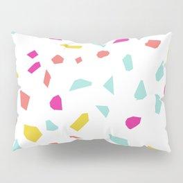 Girly Modern Terrazzo Vector Pattern Pillow Sham