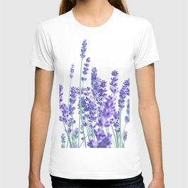 Fresh Lavender #1 #decor #art #society6 T-shirt