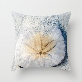 Sandy Dollar Throw Pillow