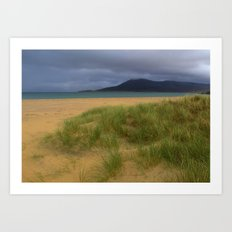 Horgabost Beach Art Print