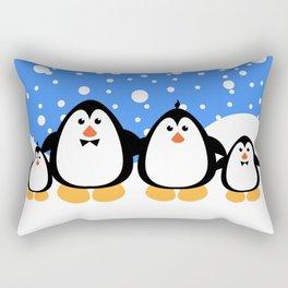 NGWINI - penguin family v3 Rectangular Pillow