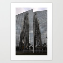 parallel reflection Art Print