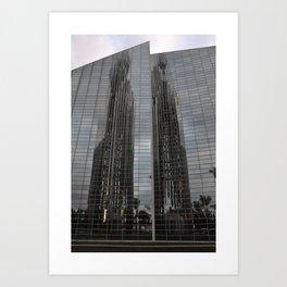 parallel reflection Art Print