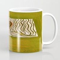 om Mugs featuring om by Loosso