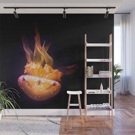 Diving Jellyfish Wall Mural