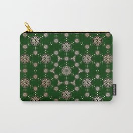 archaic pattern. crop circle. sacred geometry Carry-All Pouch