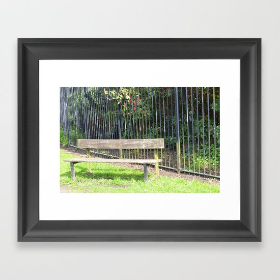 sefton park part 3 Framed Art Print