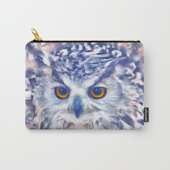 Fluffy owl Carry-All Pouch