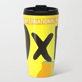 DXB Dubai airport code Travel Mug