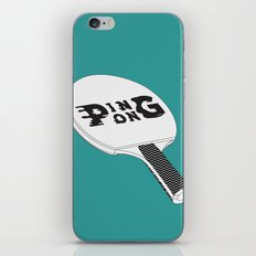 Ping Pong iPhone & iPod Skin