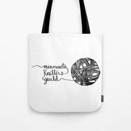 MKG Yarn - Black Tote Bag