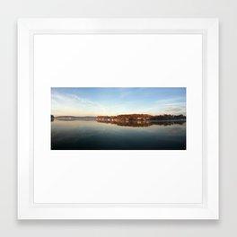 Serene. Framed Art Print