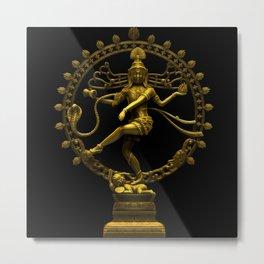 Shiva Nataraja Metal Print