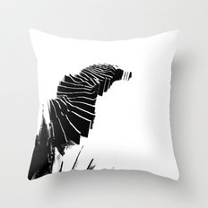 Landscape model sections Throw Pillow