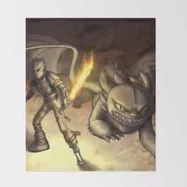 httyd2: To Battle Throw Blanket