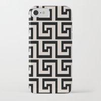 greek iPhone & iPod Cases featuring Greek Key by Charlene McCoy