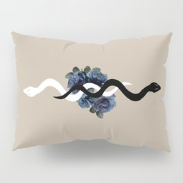 Yin Yang Snake Glam #1 #wall #art #society6 Pillow Sham