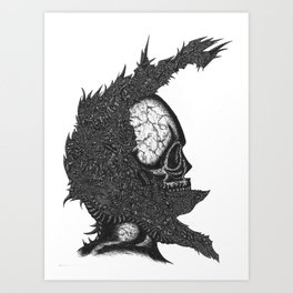 Helm of Your Own Making Art Print