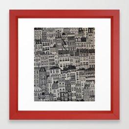 mi. Framed Art Print