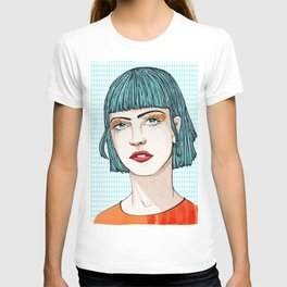 GreenEyesGirl T-shirt